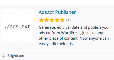 Announcing Our Ads.txt Plugin for WordPress