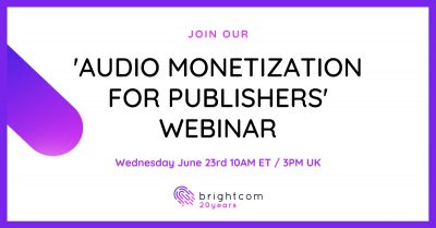 (VIDEO) Audio Monetization for Publishers Webinar